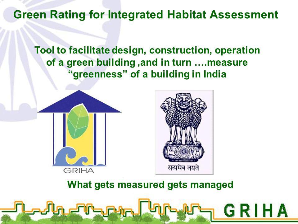 Green Rating for Integrated Habitat Assessment