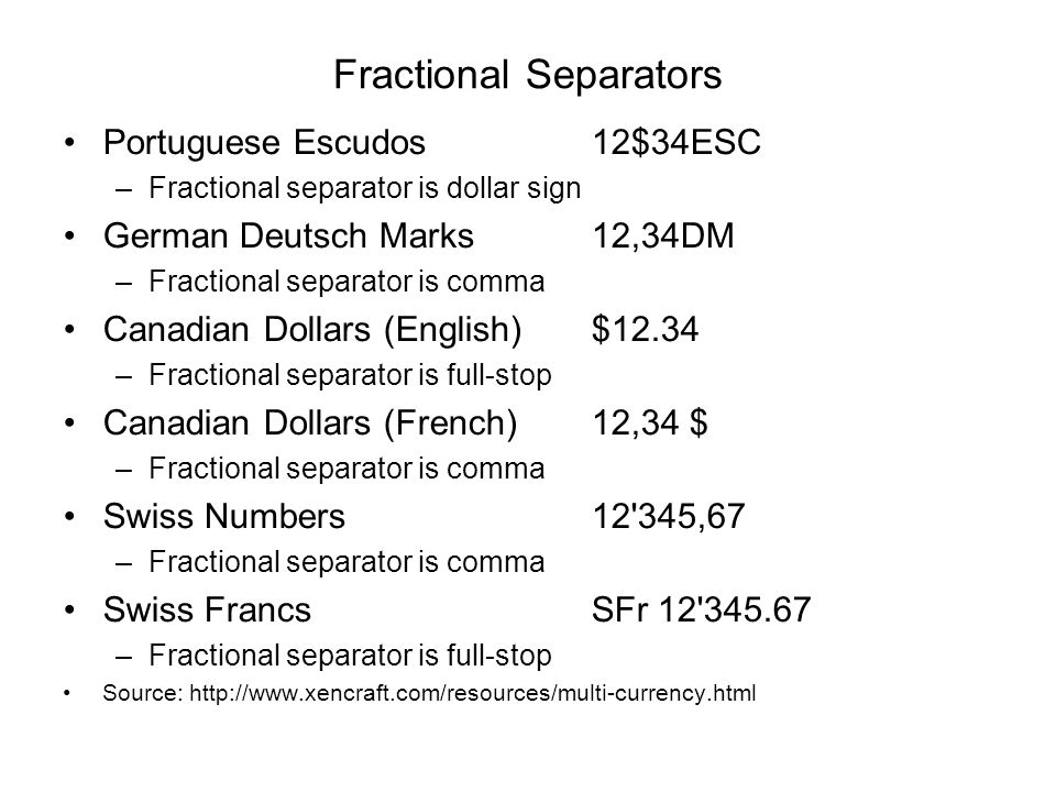 Fractional Separators