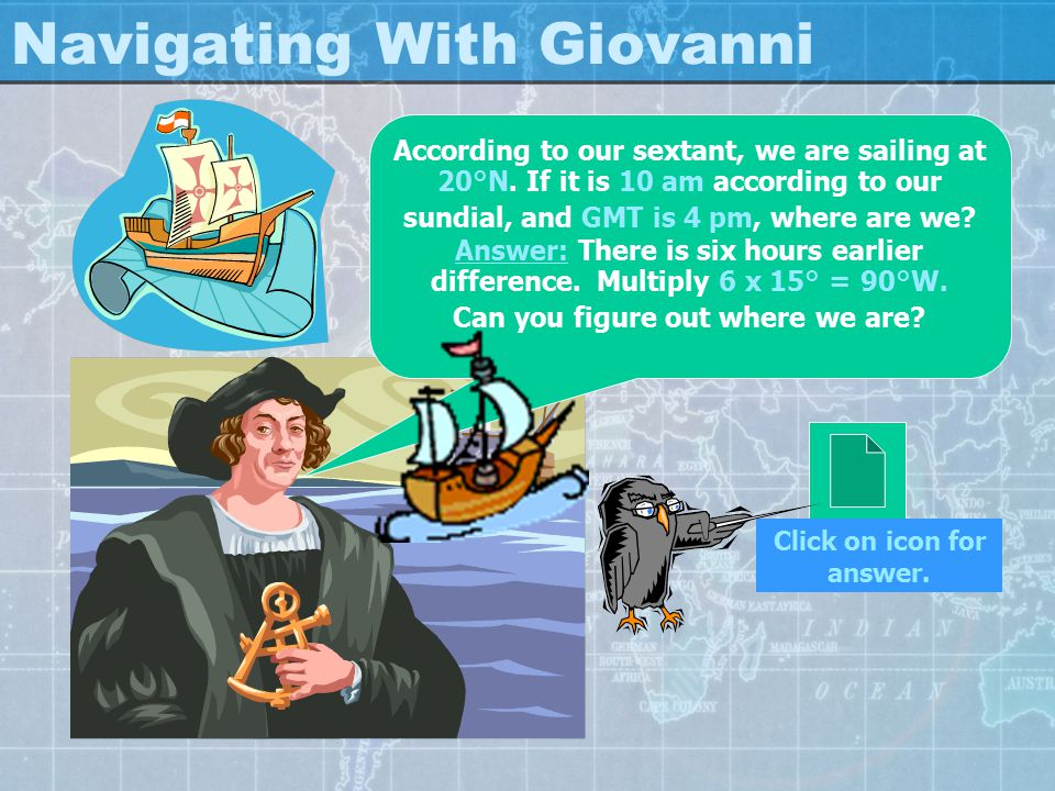 Navigating With Giovanni