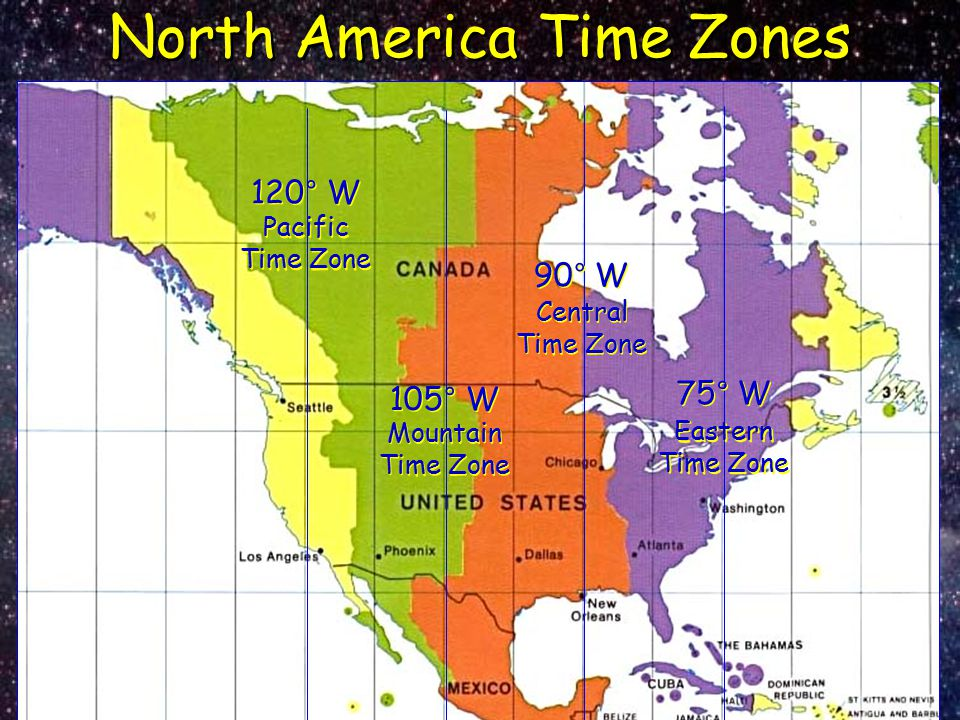 North America Time Zones