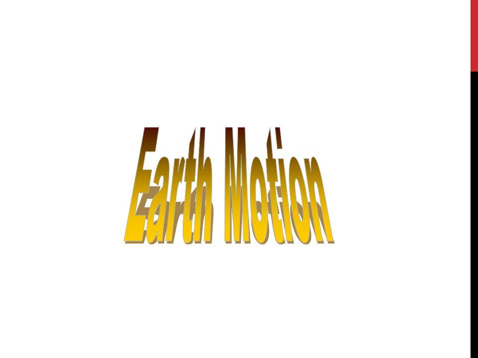 Earth Motion