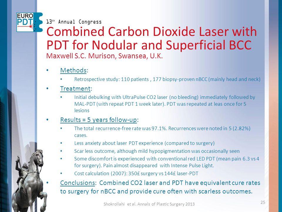 Shokrollahi et al. Annals of Plastic Surgery 2013