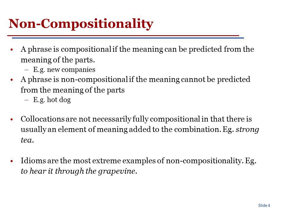 Non-Substitutability