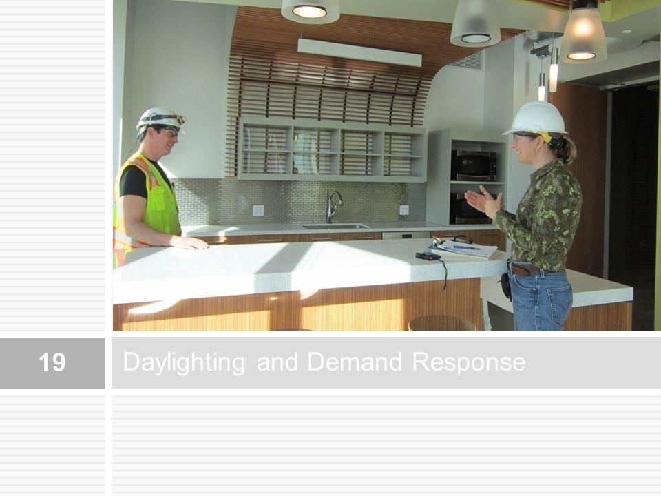 Daylighting and Demand Response