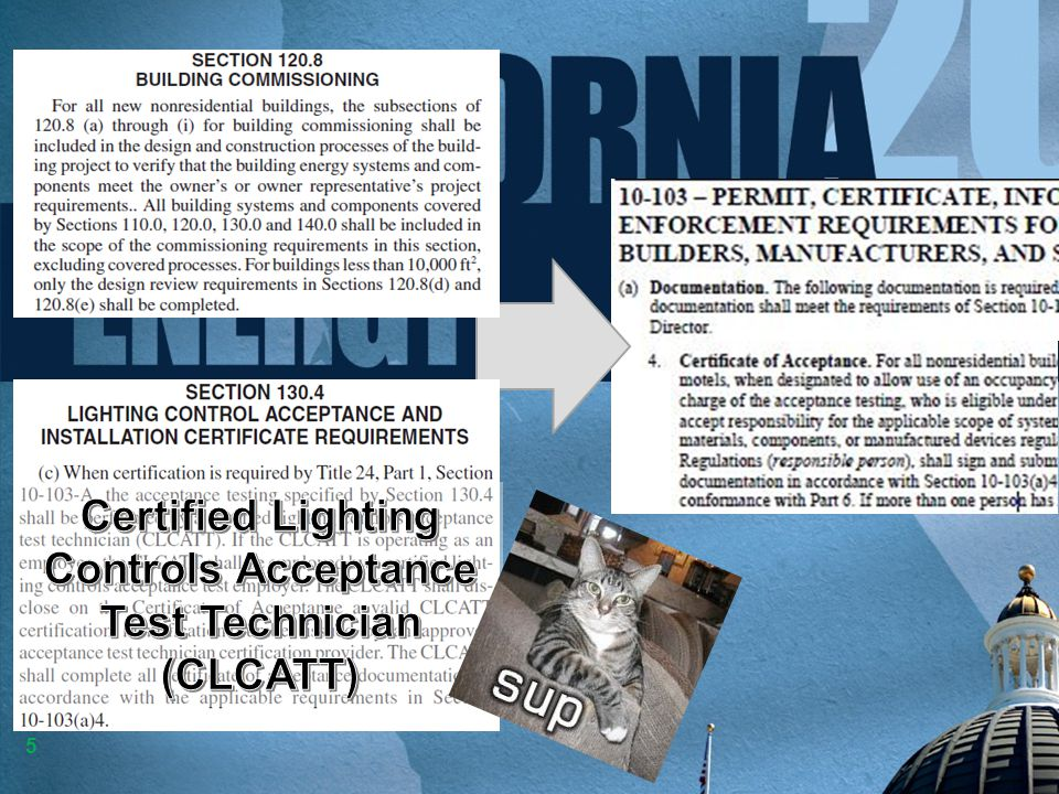 Certified Lighting Controls Acceptance Test Technician
