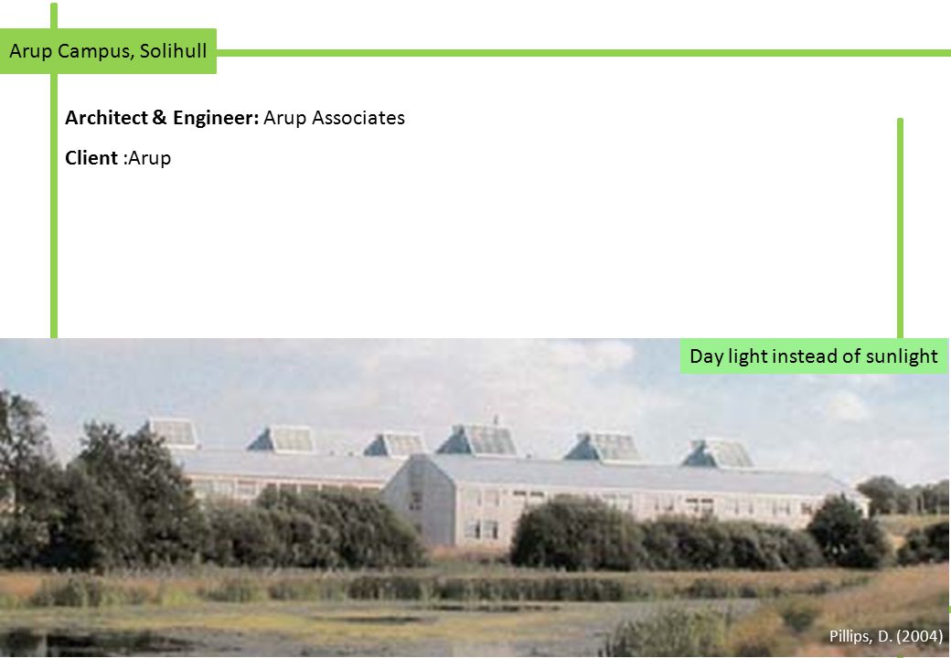Architect & Engineer: Arup Associates Client :Arup