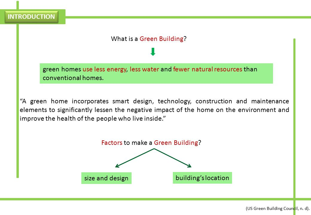 What is a Green Building