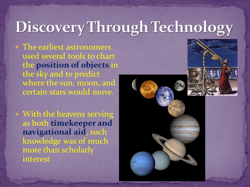 Discovery Through Technology