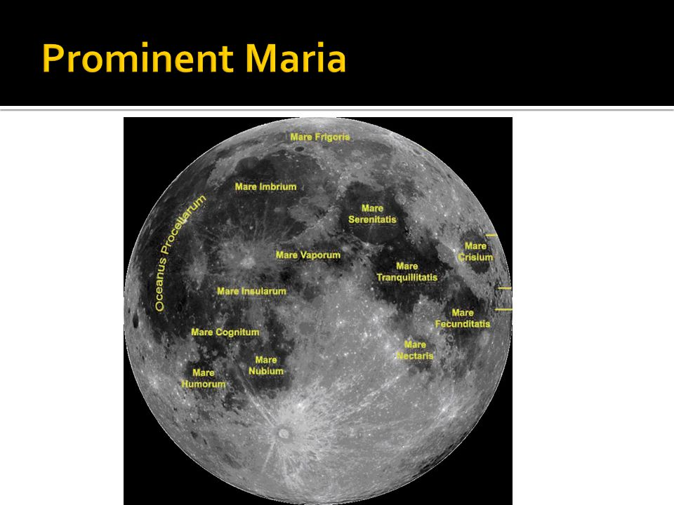 Prominent Maria
