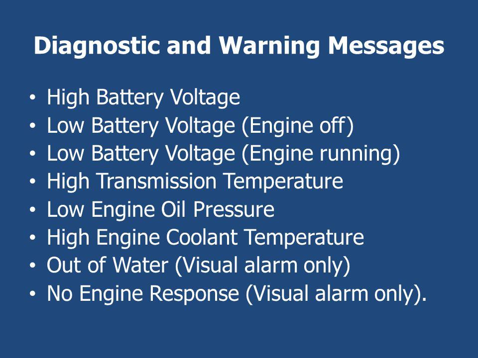 Diagnostic and Warning Messages