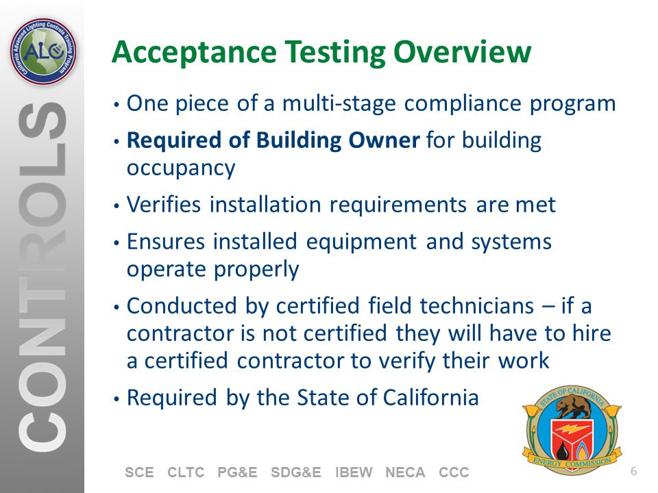 Acceptance Testing Overview