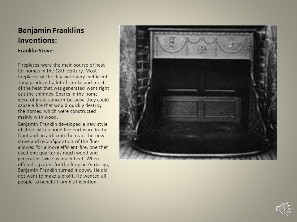 Benjamin Franklins Inventions: