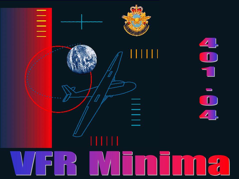 4 1 . VFR Minima