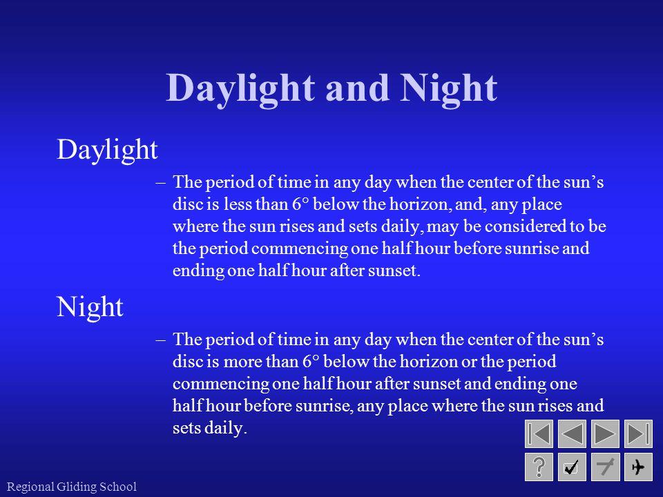 Daylight and Night Daylight Night