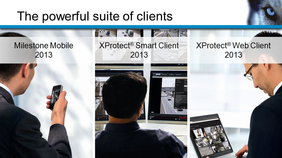 The powerful suite of clients