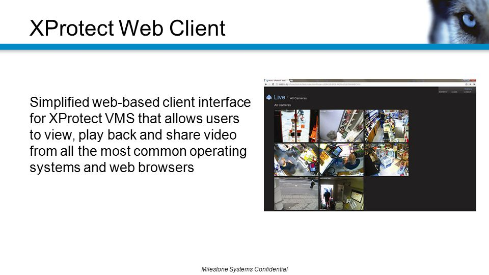 XProtect Web Client