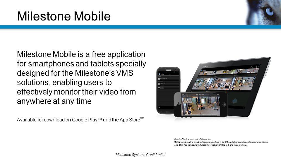 Milestone Mobile