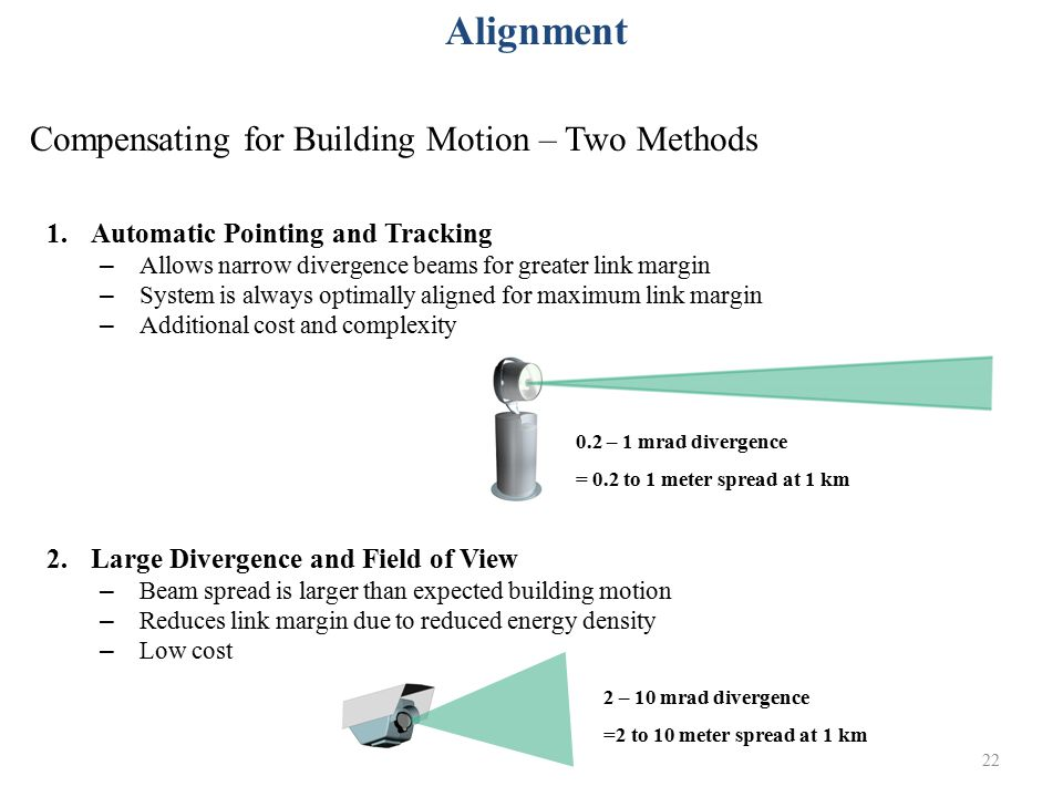 Compensating for Building Motion – Two Methods