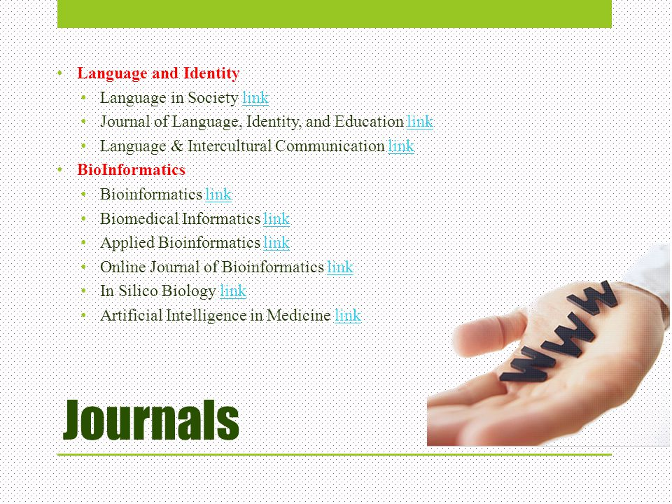 Journals Language and Identity Language in Society link