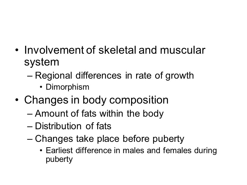 Involvement of skeletal and muscular system