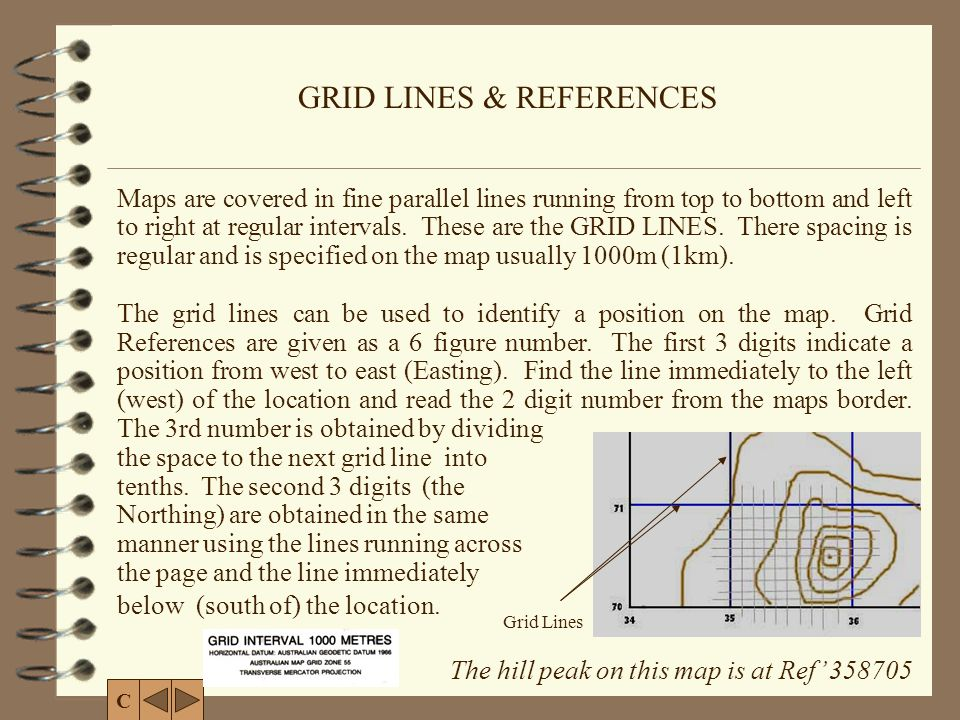 GRID LINES & REFERENCES