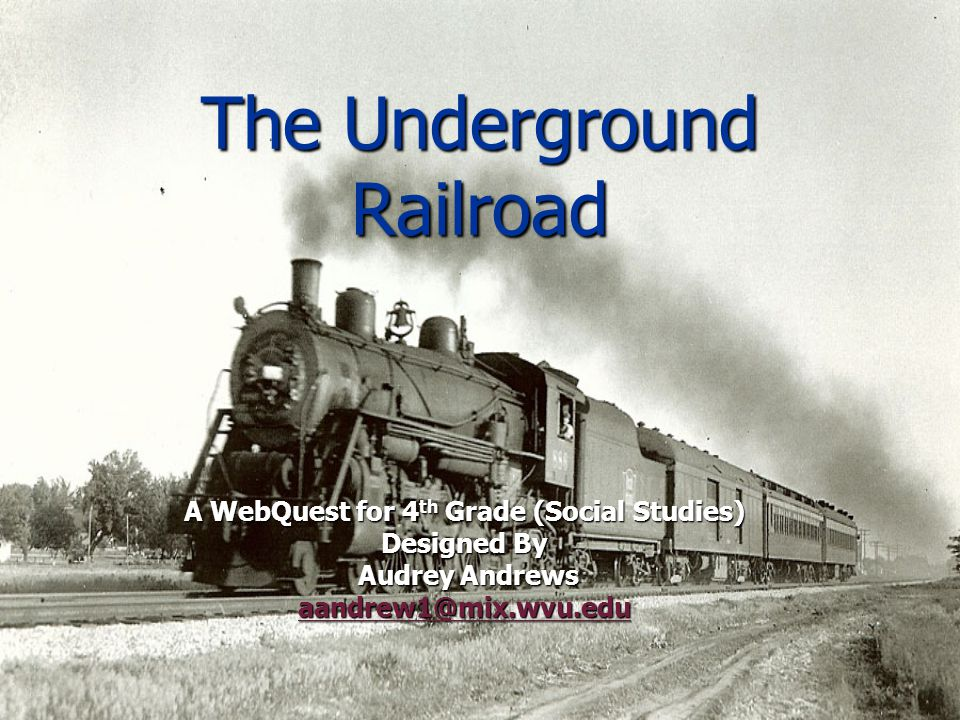 the underground railroad ppt the underground railroad
