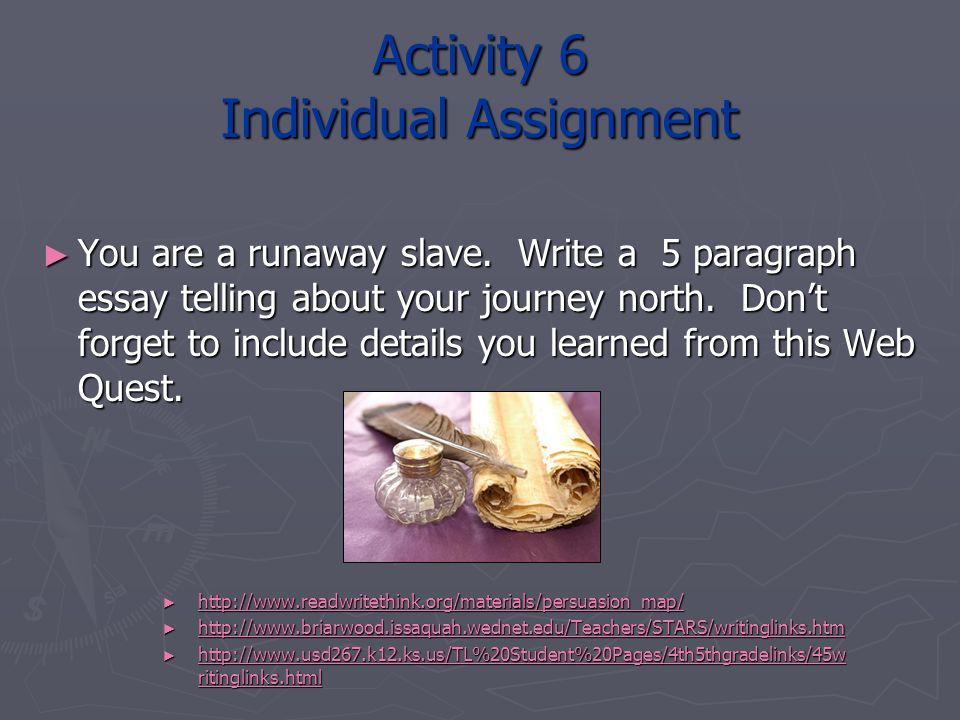 Activity 6 Individual Assignment