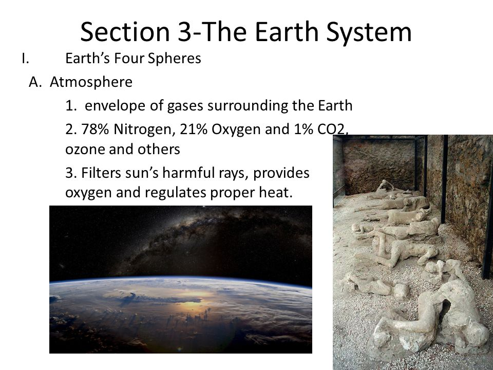 Section 3-The Earth System