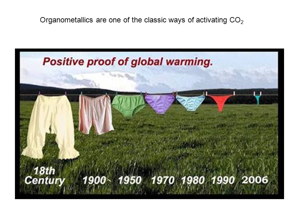 Organometallics are one of the classic ways of activating CO2