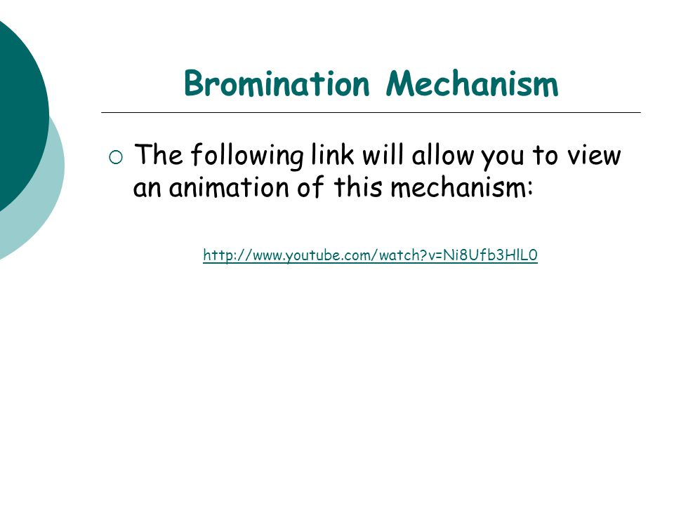 Bromination Mechanism