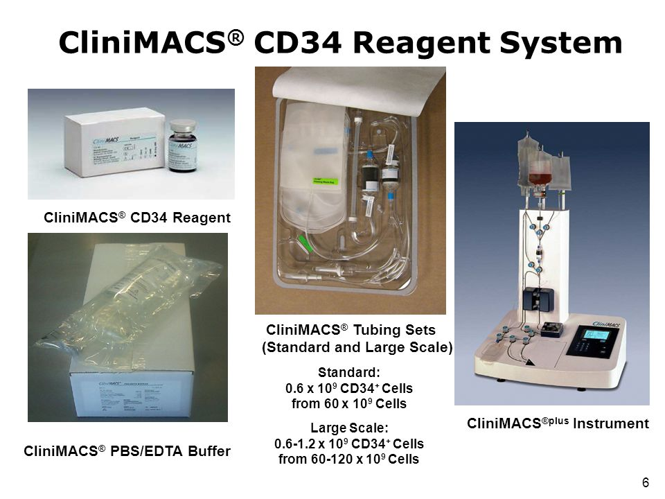 CliniMACS® CD34 Reagent System