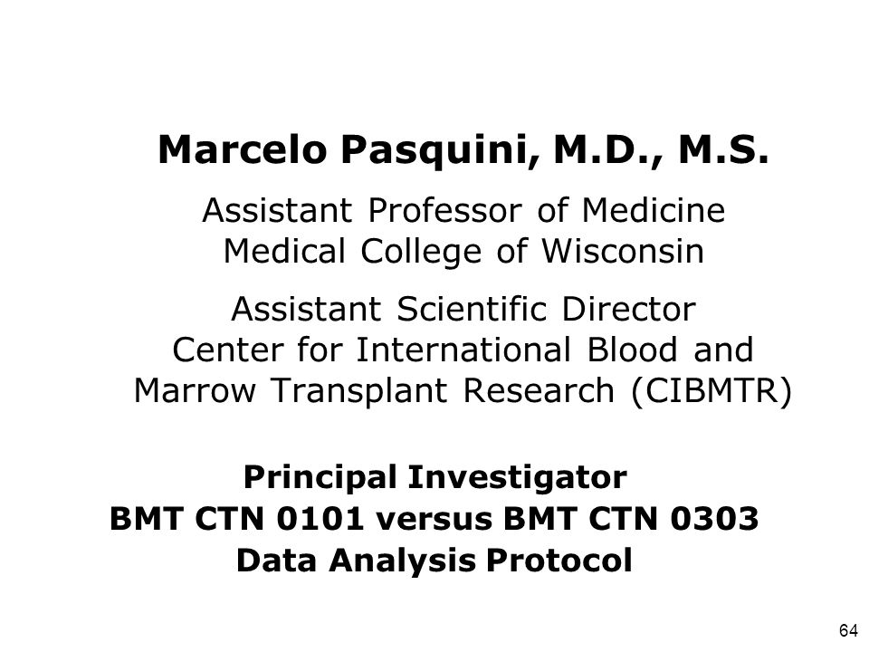 Principal Investigator Data Analysis Protocol
