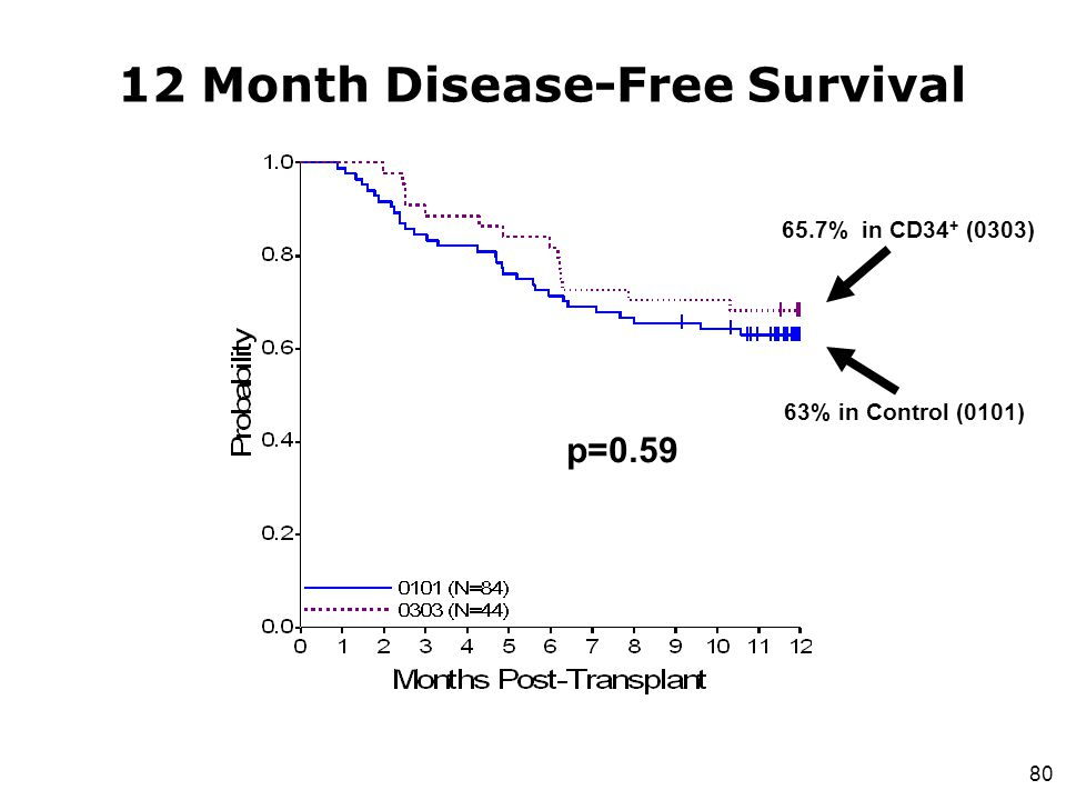 12 Month Disease-Free Survival