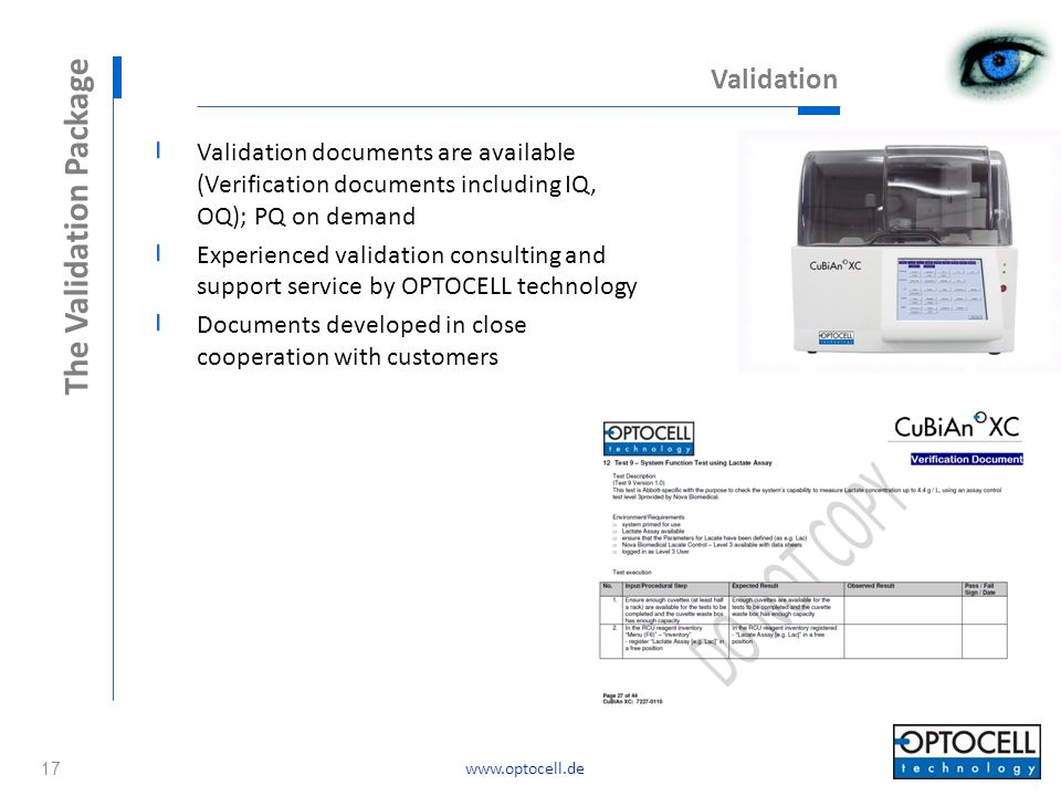 The Validation Package