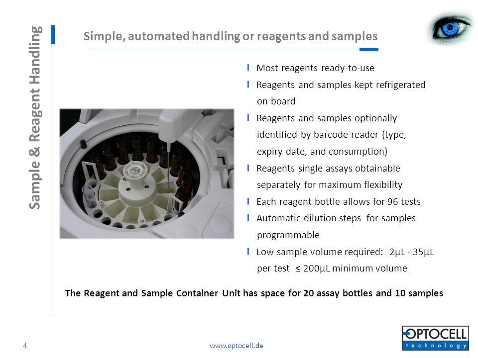 Sample & Reagent Handling