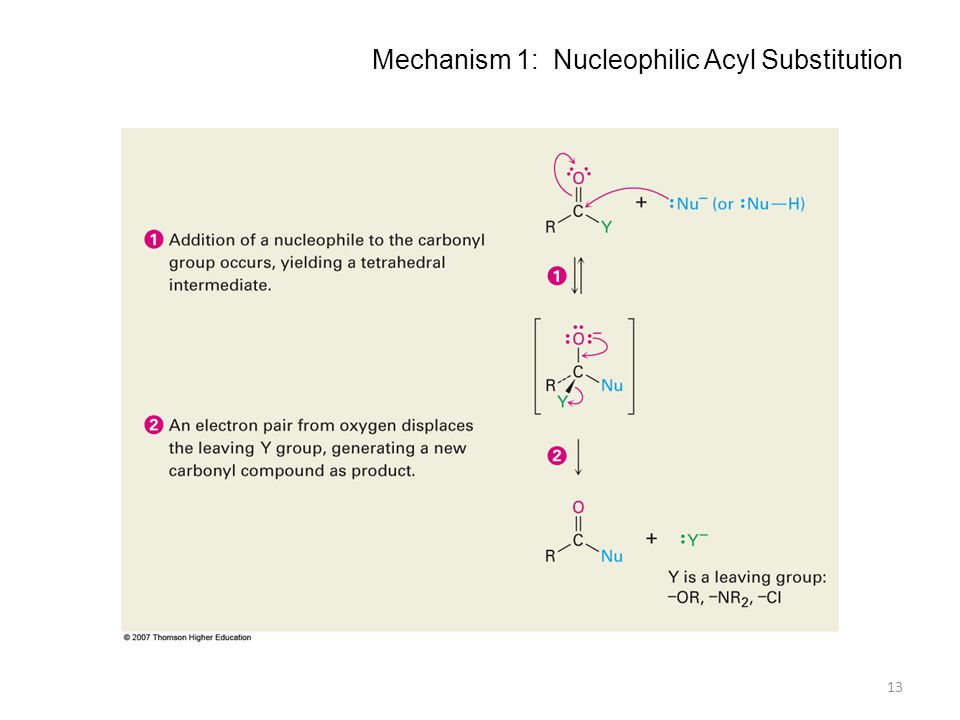 Mechanism 1: Nucleophilic Acyl Substitution