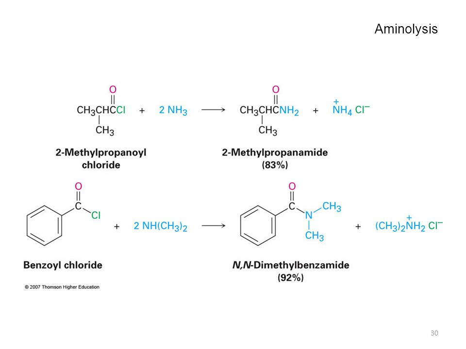 Aminolysis