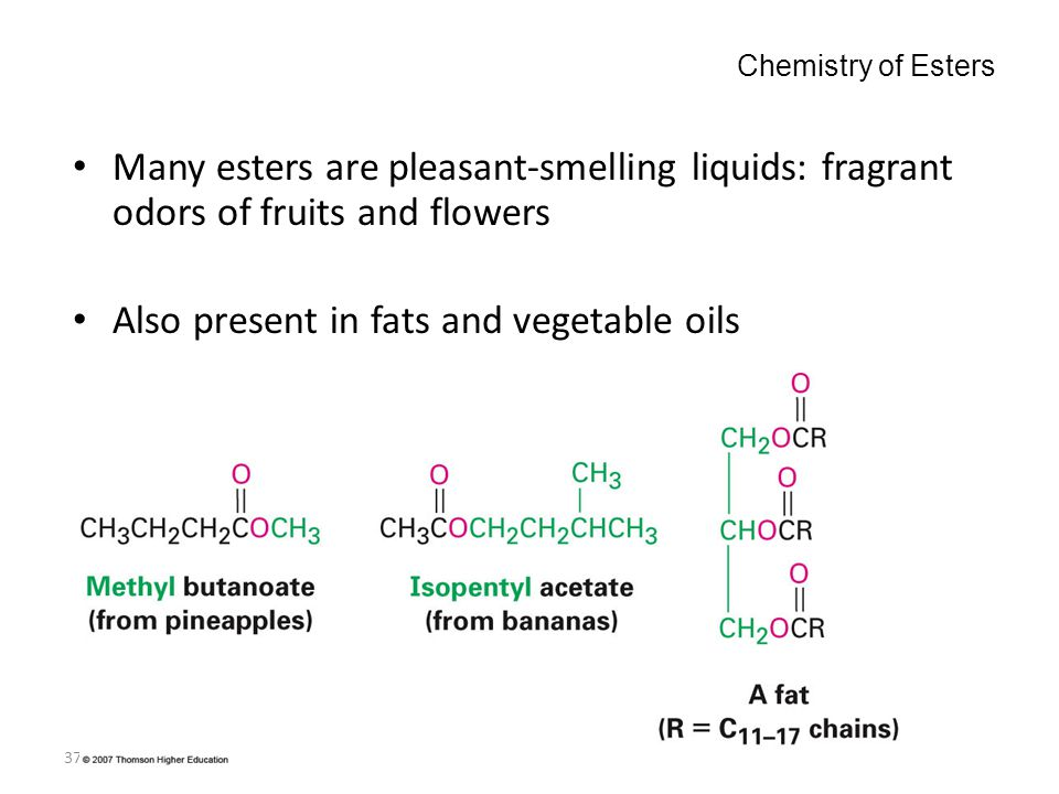 Also present in fats and vegetable oils