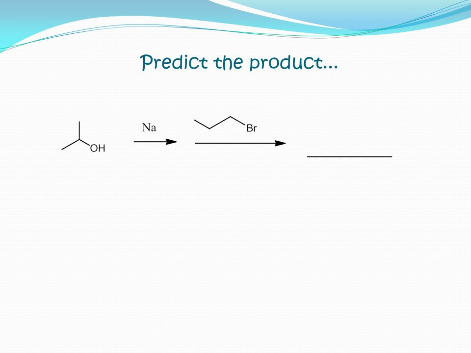 Predict the product...
