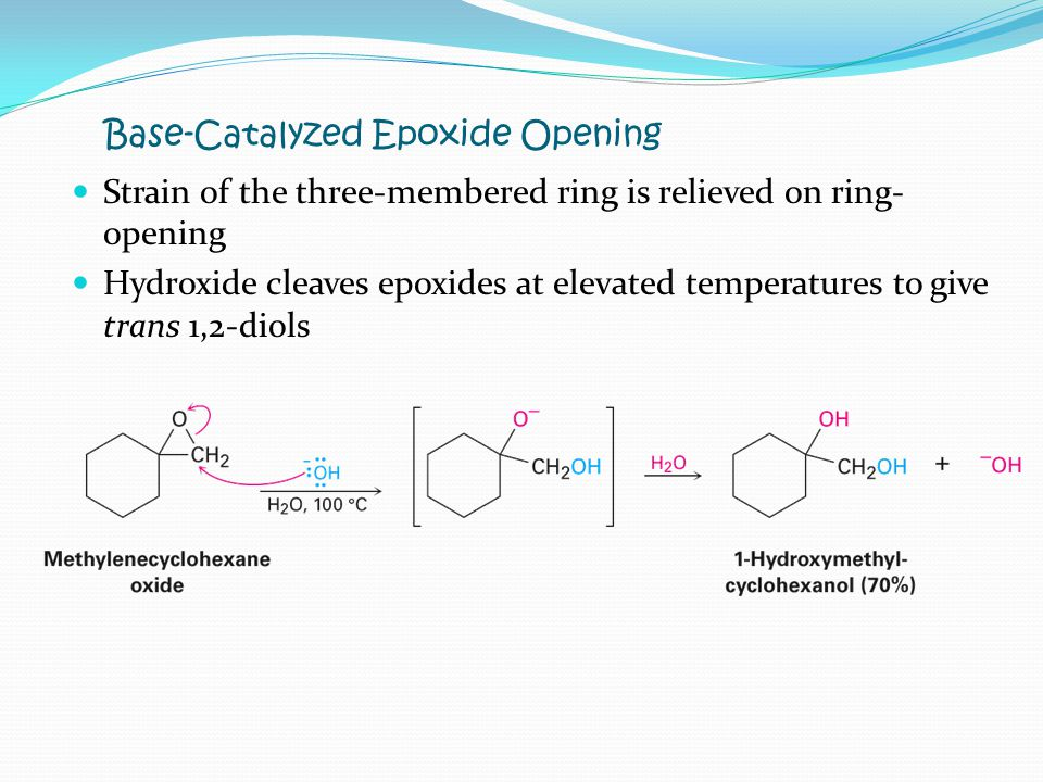 Base-Catalyzed Epoxide Opening