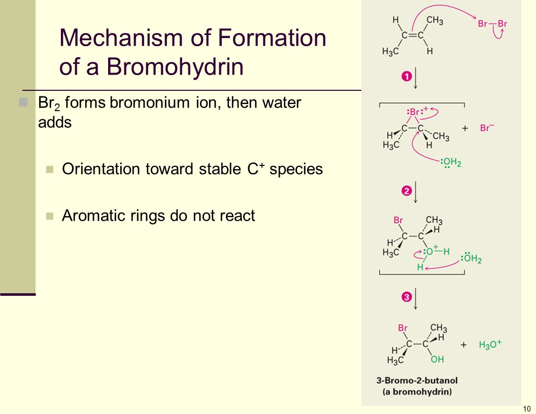 Mechanism of Formation of a Bromohydrin