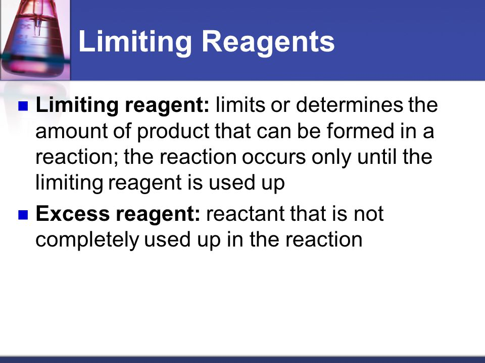 Limiting Reagents