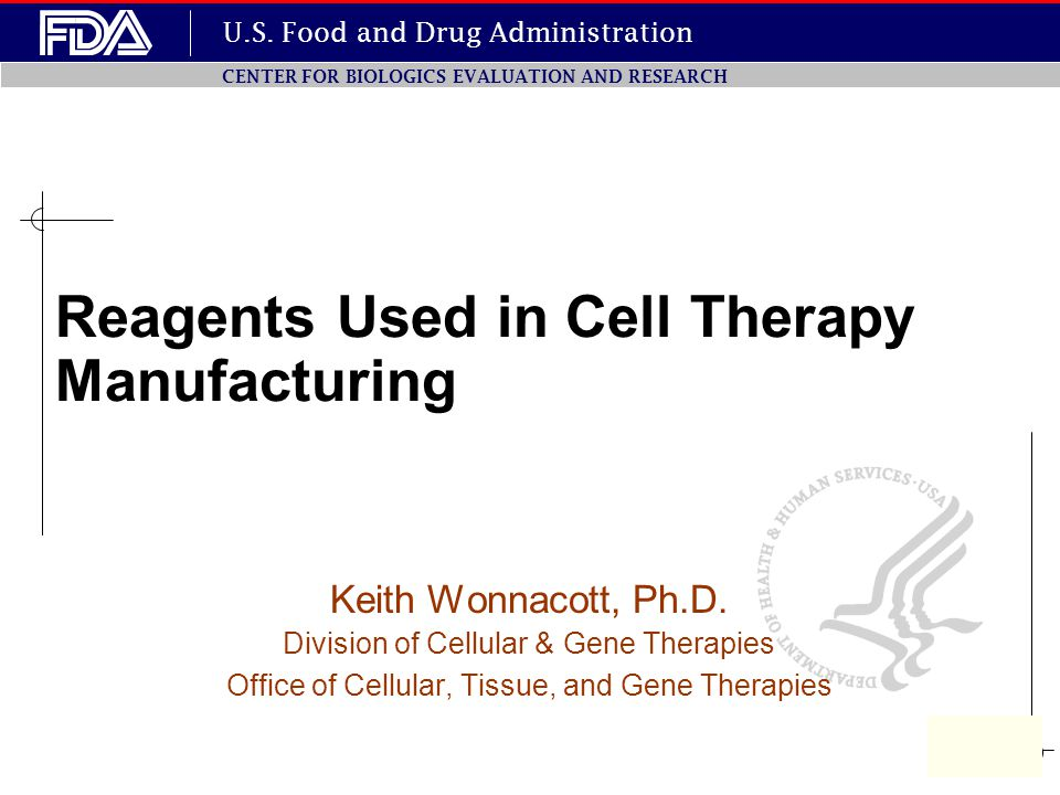 Reagents Used in Cell Therapy Manufacturing