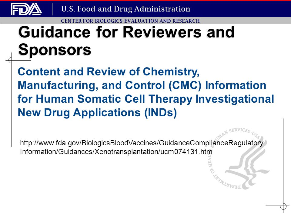 Guidance for Reviewers and Sponsors