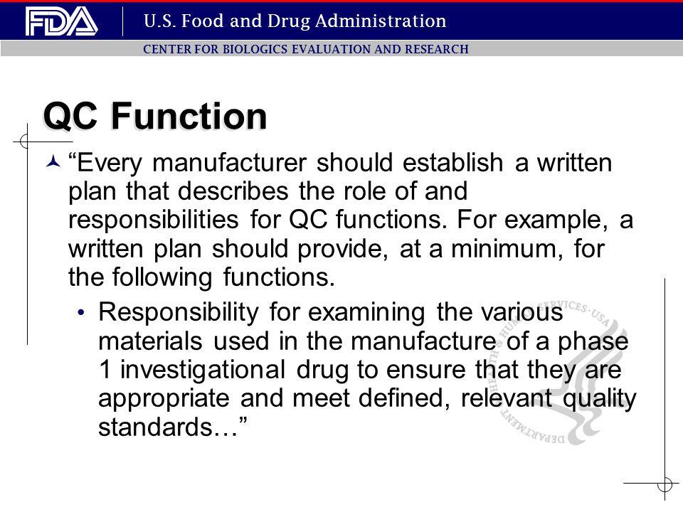 QC Function