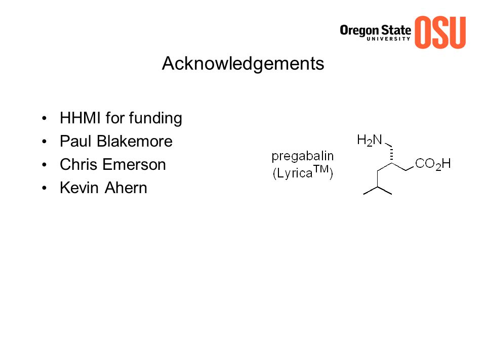 Acknowledgements HHMI for funding Paul Blakemore Chris Emerson