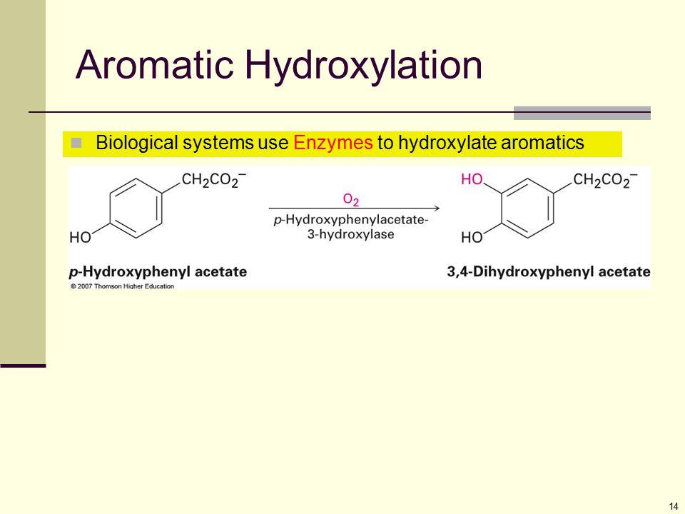 Aromatic Hydroxylation