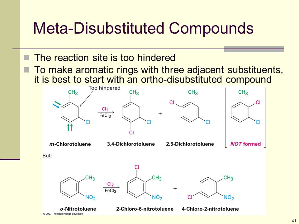 Meta-Disubstituted Compounds