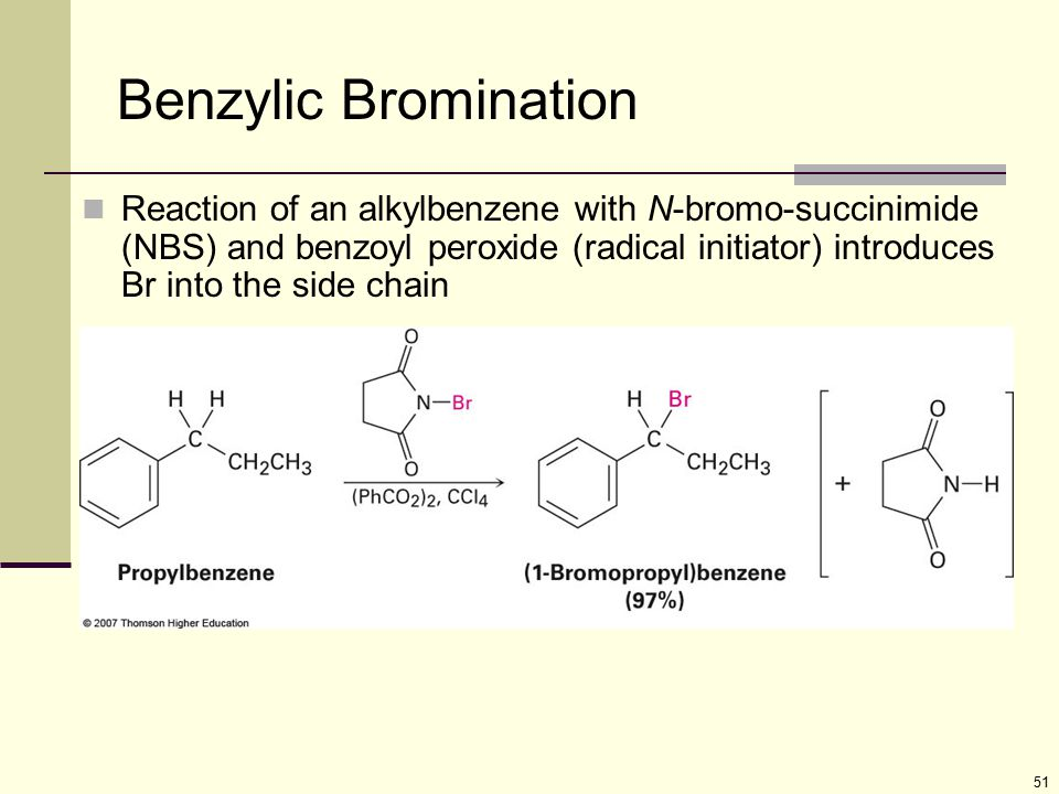Benzylic Bromination