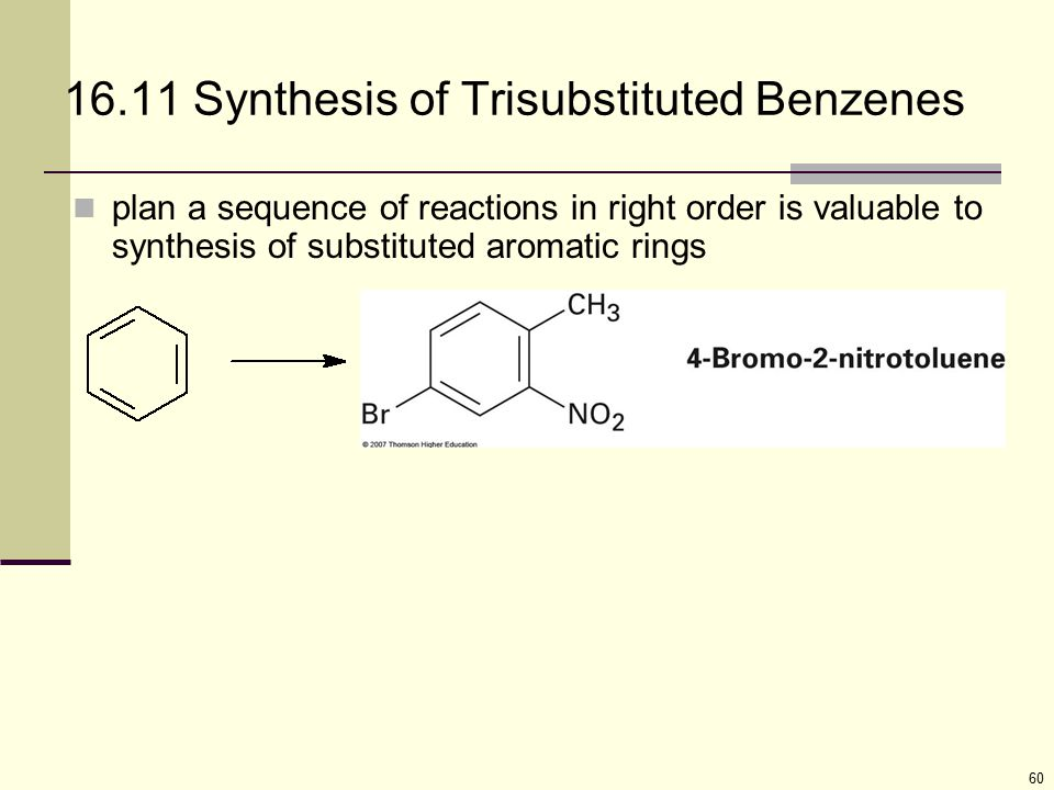 16.11 Synthesis of Trisubstituted Benzenes